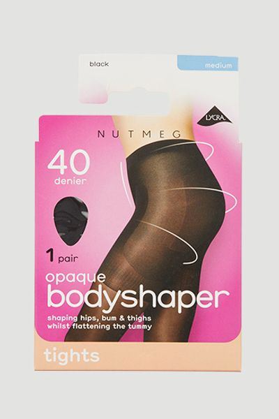 40 Denier Black Bodyshaper Tight
