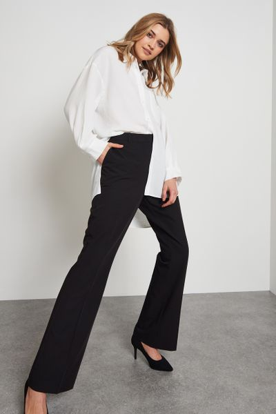 Black Slim Trousers