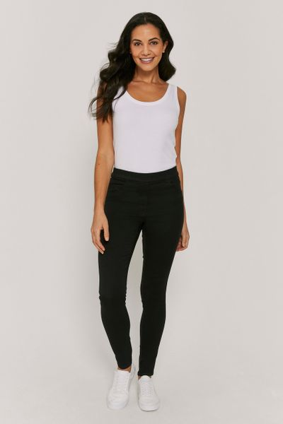 Black Jersey Jegging