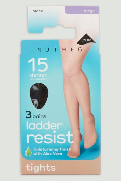 3 Pack Black 15 Denier Tights