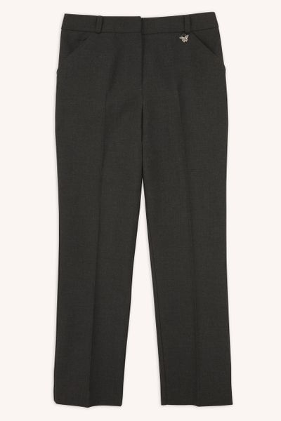 Charcoal Slim Leg Trousers