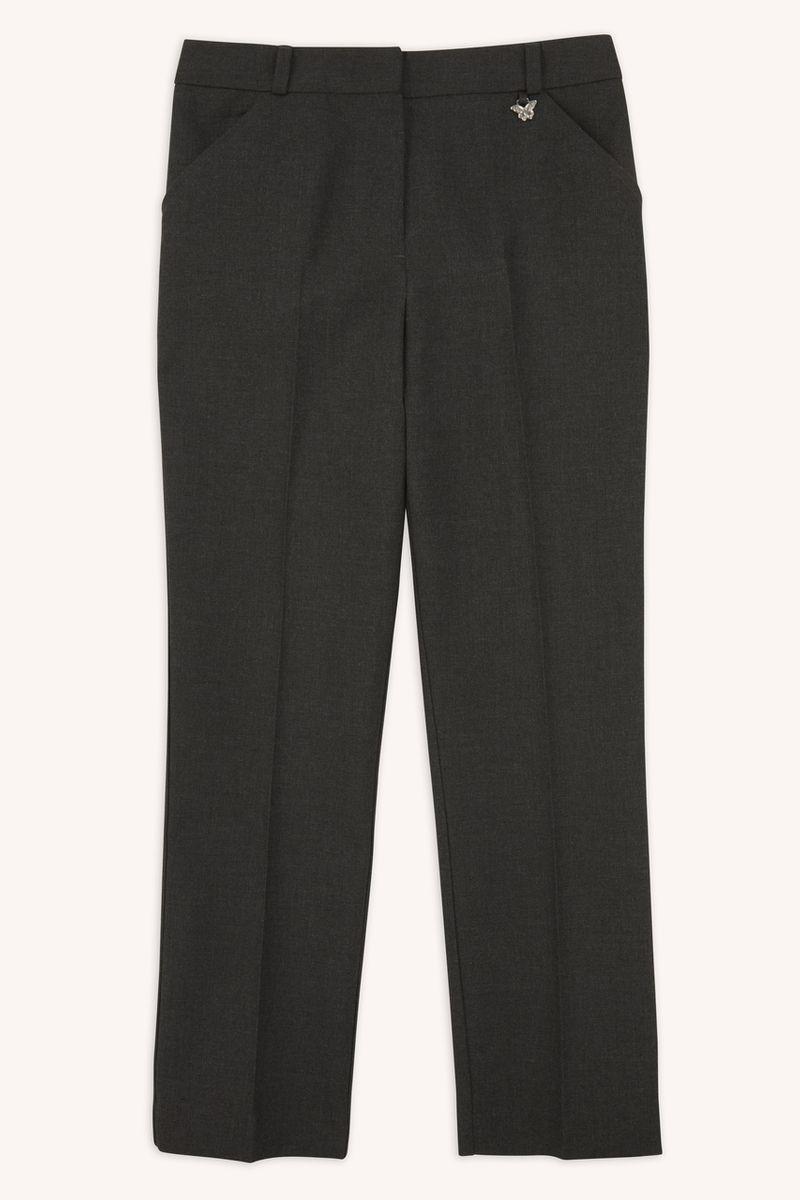 Charcoal Slim Leg Trousers