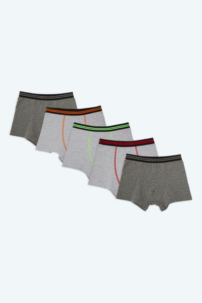 5 Pack Striped Trunks