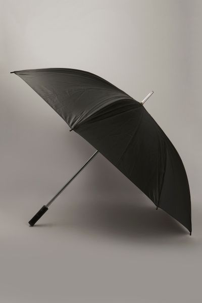 Auto Open Golf Black Umbrella