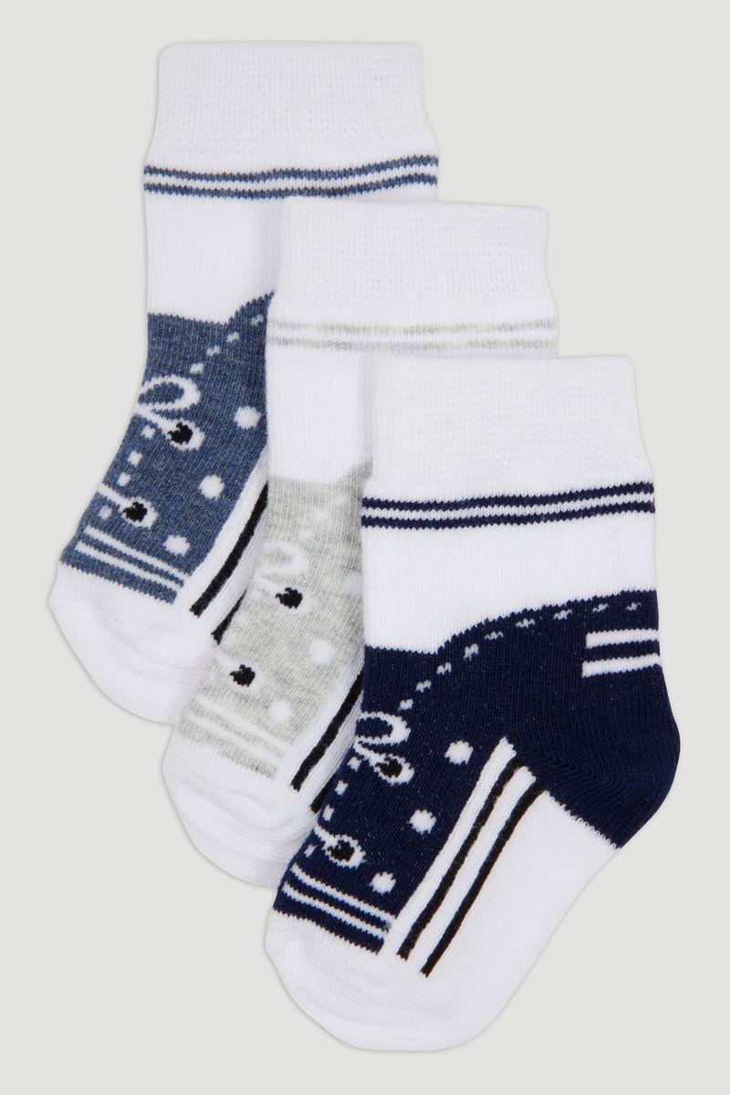 3 Pack Trainer Design Socks