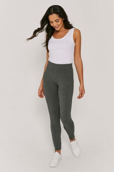 Charcoal Stretch Leggings