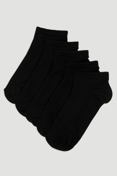 5 Pack Black Trainer Liners
