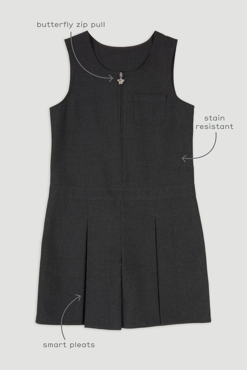 Charcoal Woven Playsuit