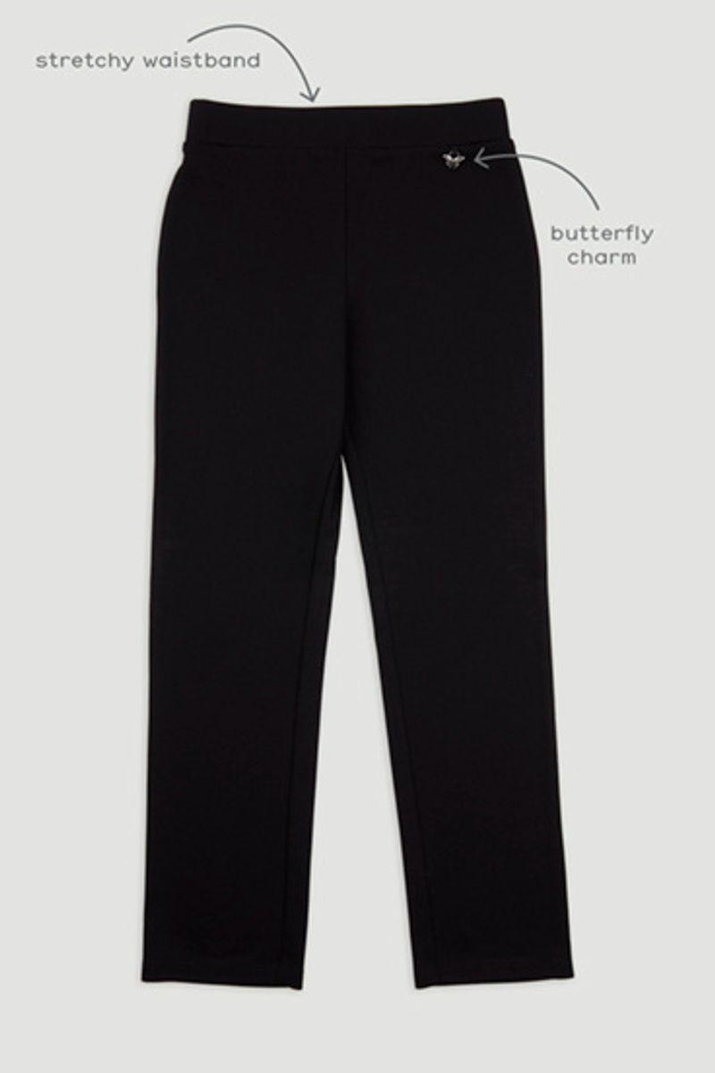 Black Ponte Trousers