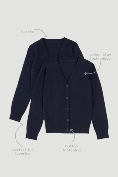 Navy 2 Pack Cardigans