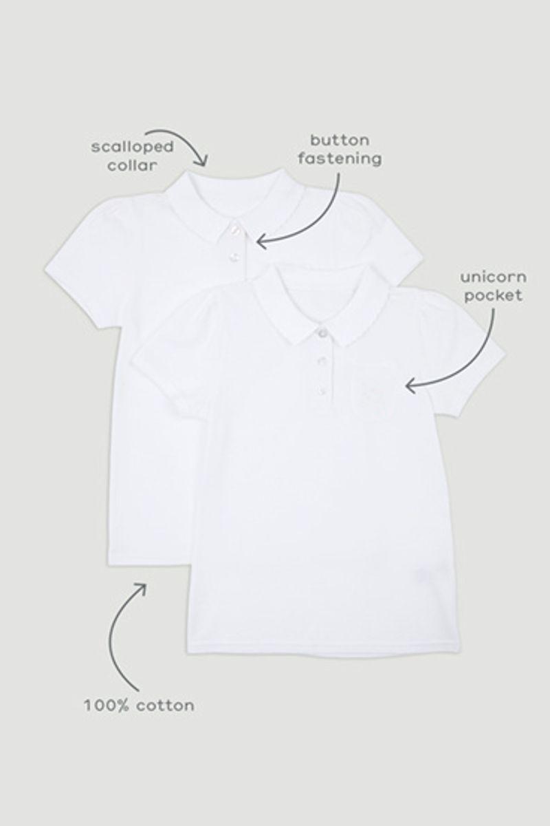 2 Pack Unicorn Polo Shirts