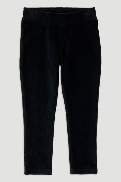 Black Velour Leggings