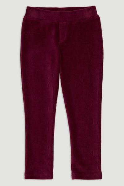 Berry Velour Leggings
