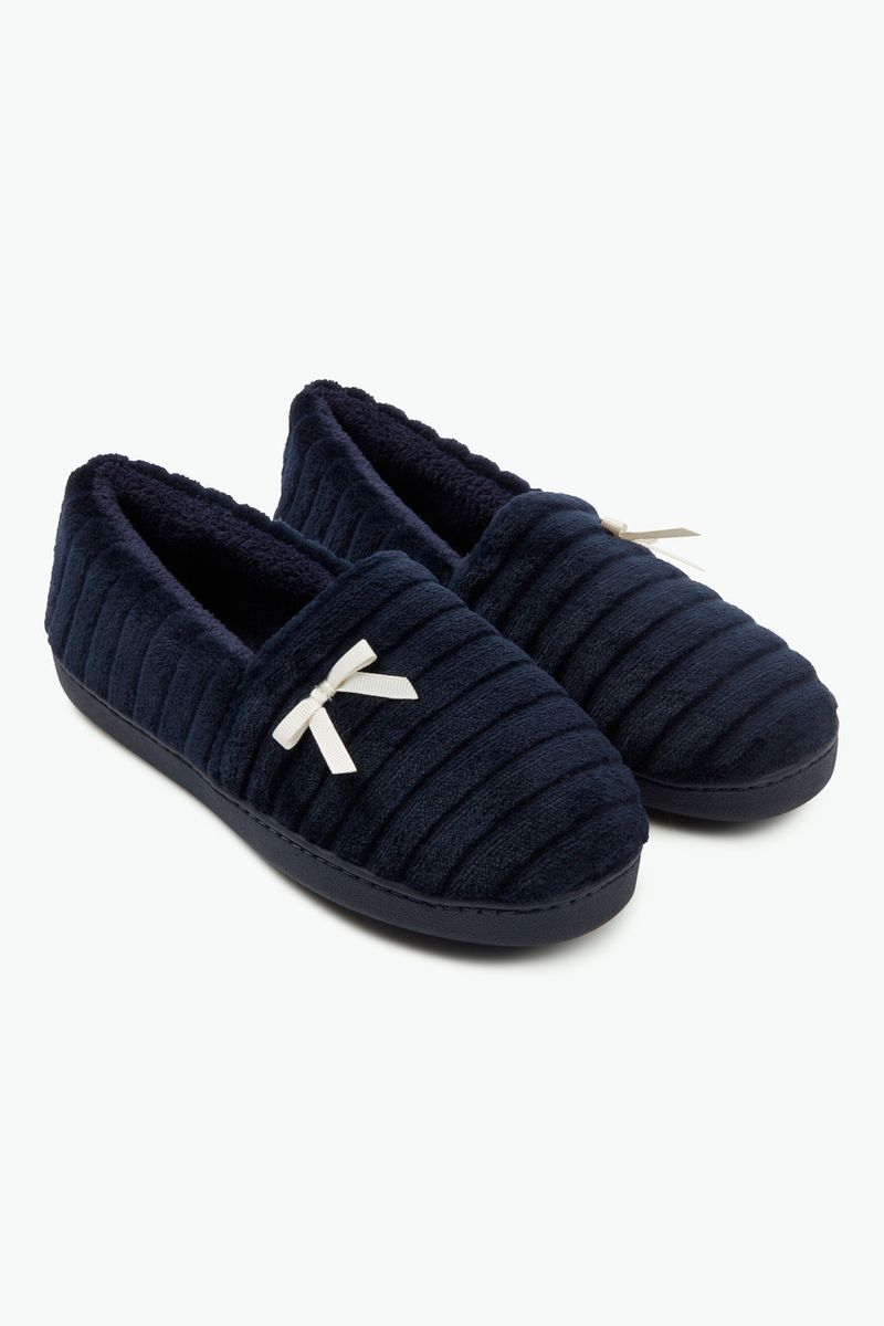 Comfort Navy Slippers