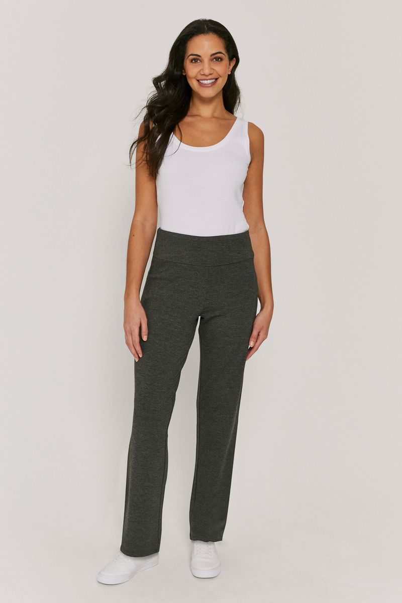Grey Yoga Trouser