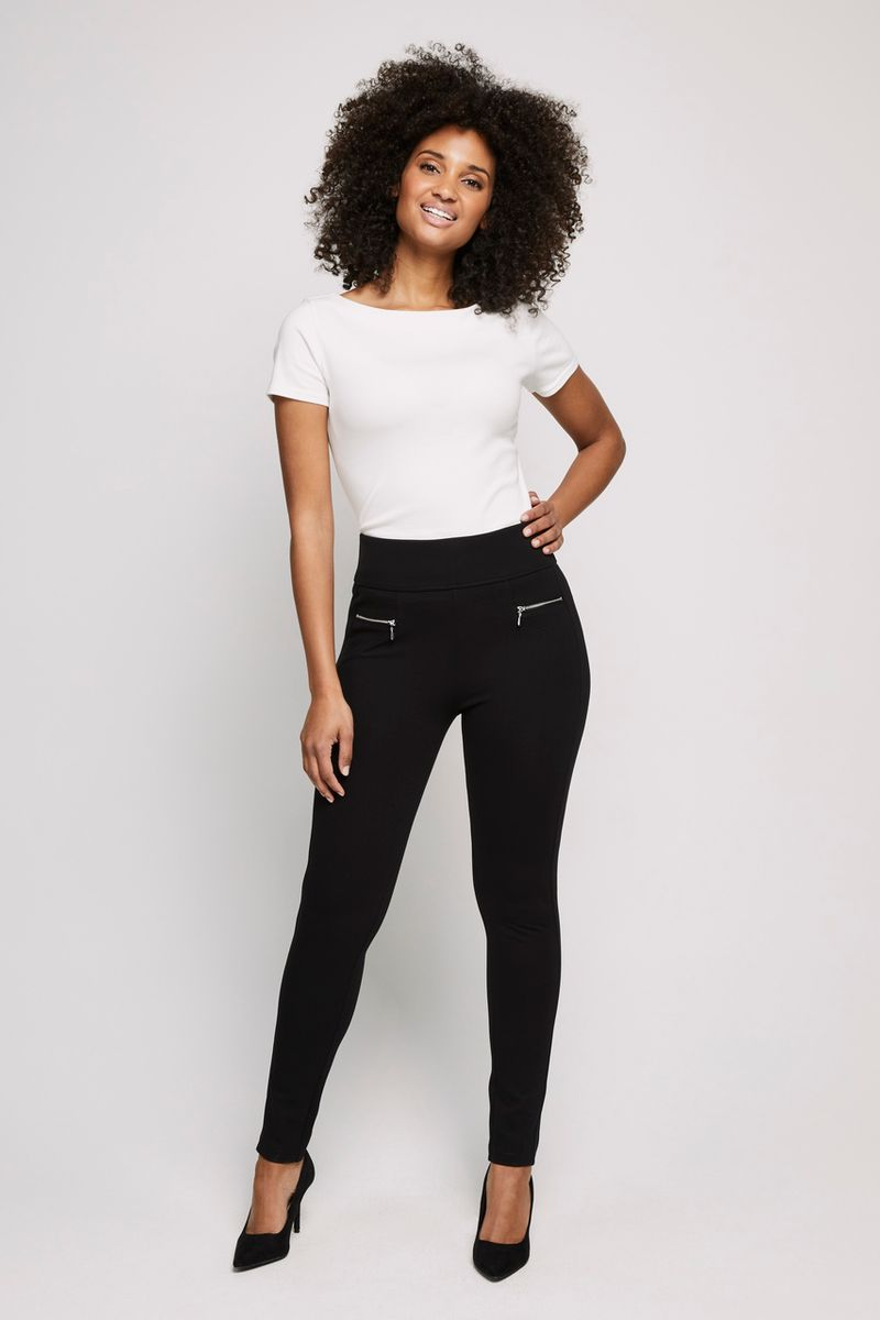 Ponte Pintuck Leggings