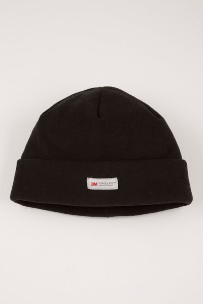 Thinsulate Black Fleece Hat