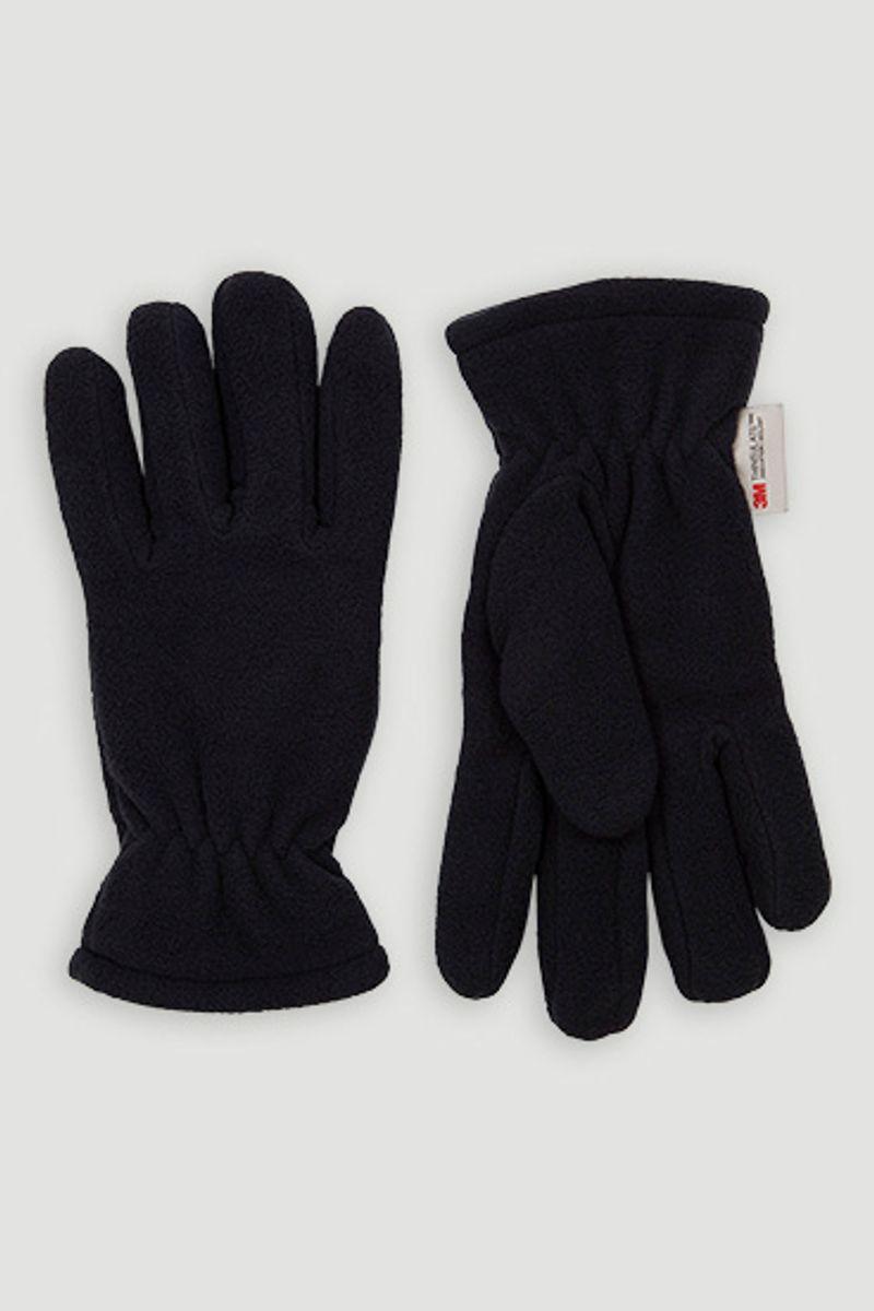 Thinsulate Navy Fleece Gloves