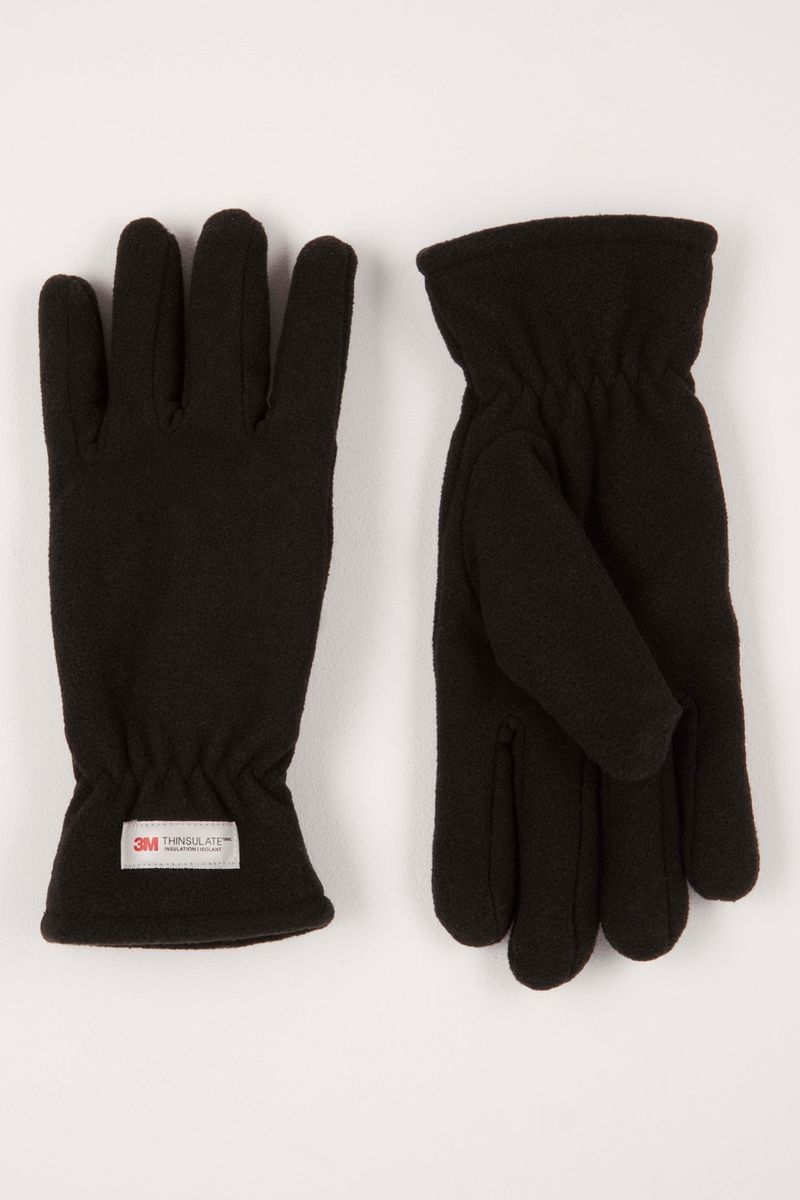Thinsulate Black Fleece Glove