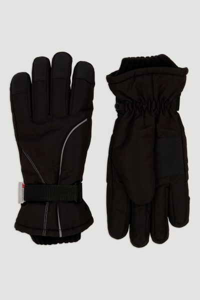 Thinsulate Black Ski Glove