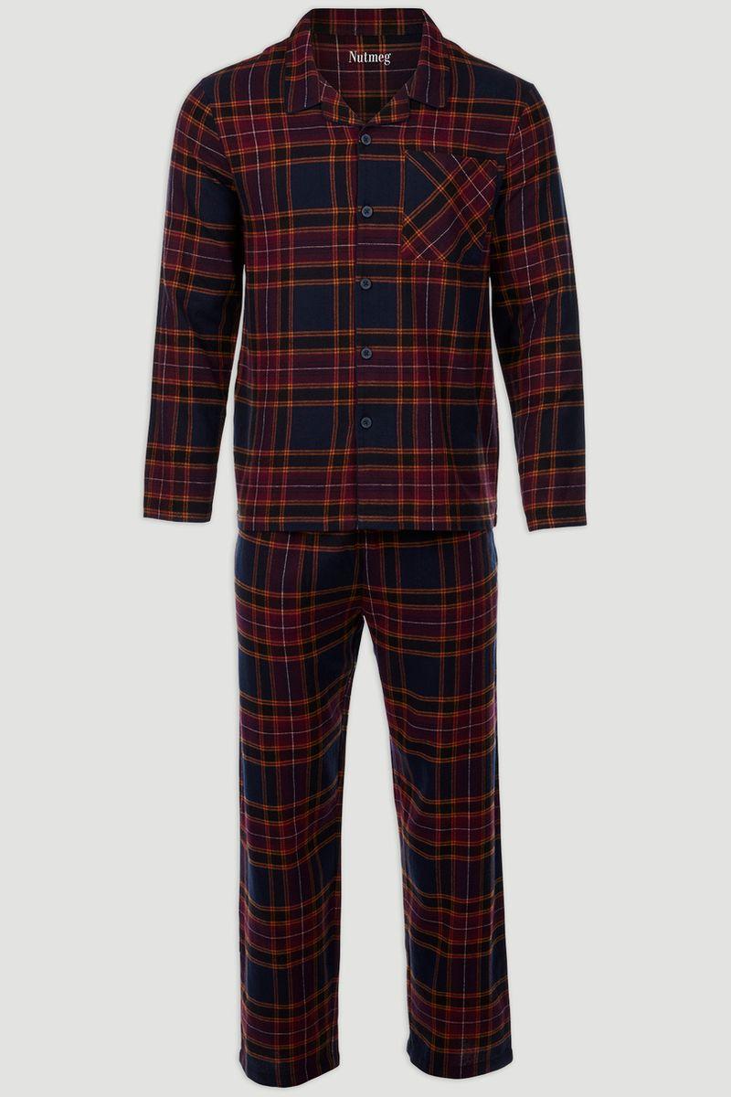 Checked Woven Pyjama Set