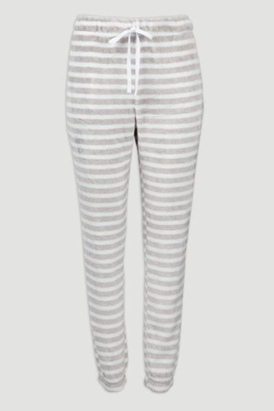 Stripe Fleece Pyjama Legging