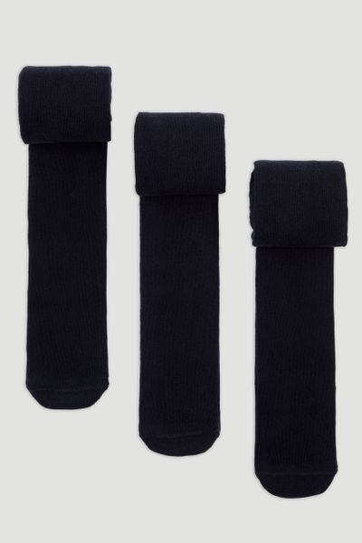 3 Pack Supersoft Navy Tights