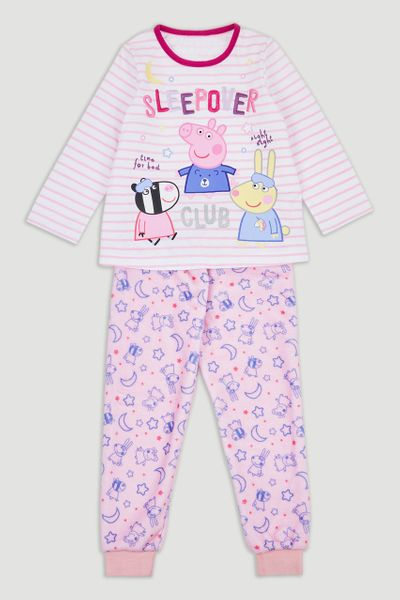 Peppa Pig Fleece Pyjamas
