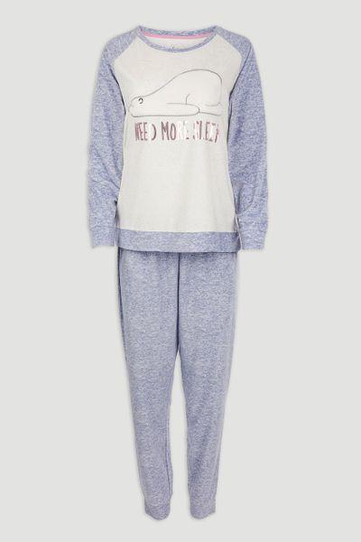 Bear Fleece Pyjama