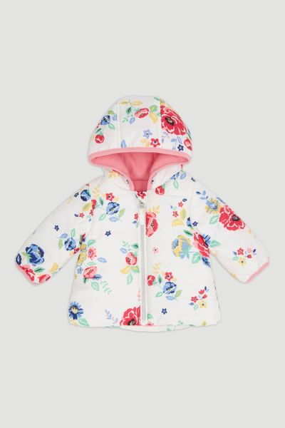 Flower Puffa Jacket