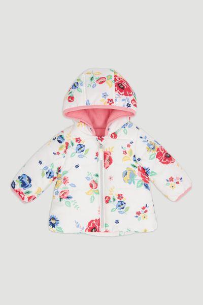 Floral Puffa Jacket