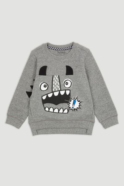 Monster Charcoal Sweatshirt
