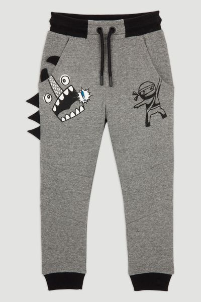 Charcoal Monster Joggers