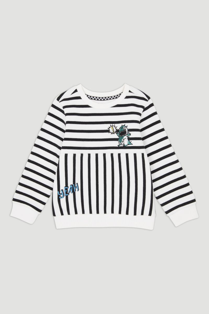 Monster Stripe Sweatshirt