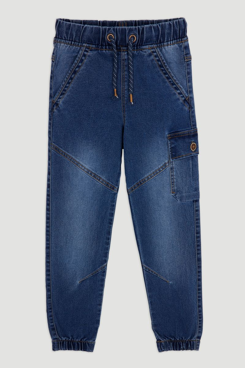 Cargo Denim Jeans 1-14yrs