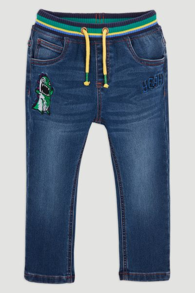 Monster Applique Jeans