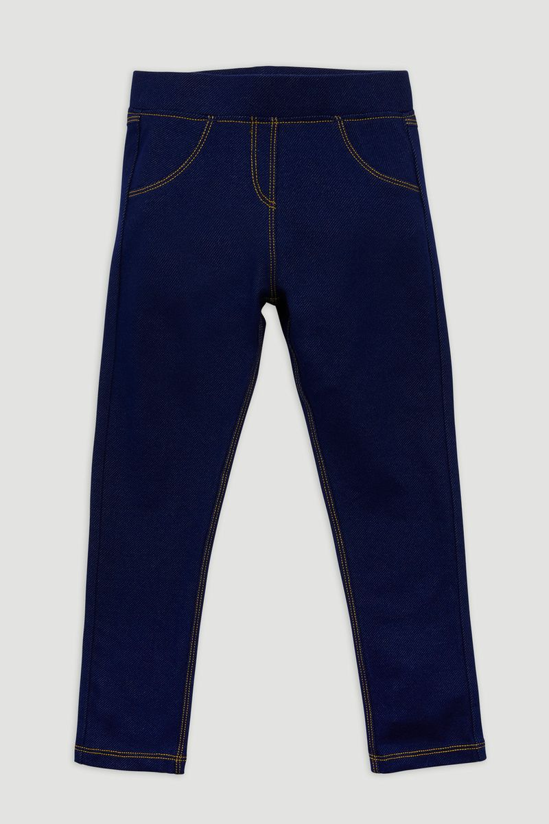 Mid Wash Blue Jeggings Youngers
