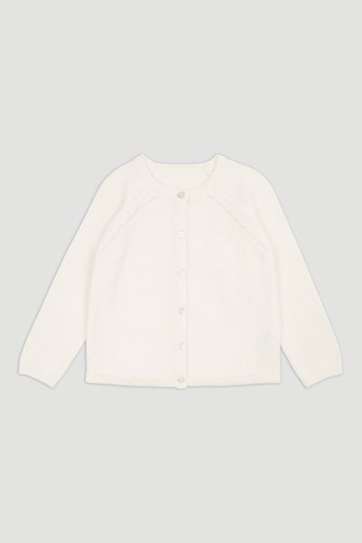 White Cardigan 1-10yrs