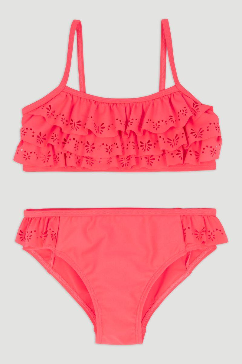 Pink Laser Cut Bikini