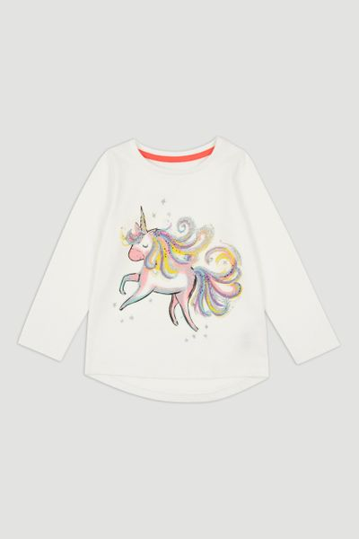 Unicorn T-shirt 1-10yrs