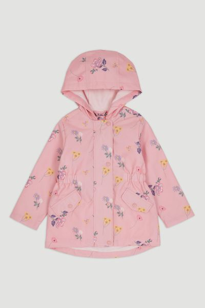 Flower Raincoat 1-10yrs