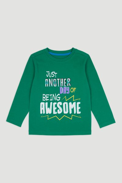 Green Adventure Long Sleeve T-Shirt