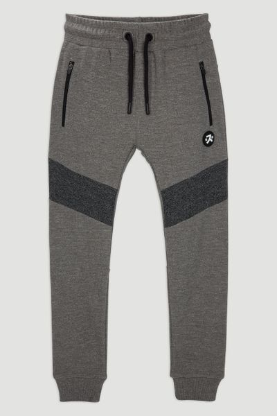 Grey Marl Joggers 1-14yrs