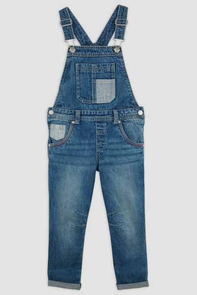 Denim Dungaree 1-8yrs