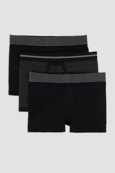 3 Pack Seamfree Trunks