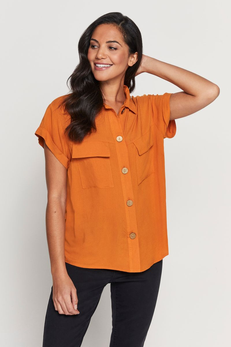 Mustard Trucker Shirt