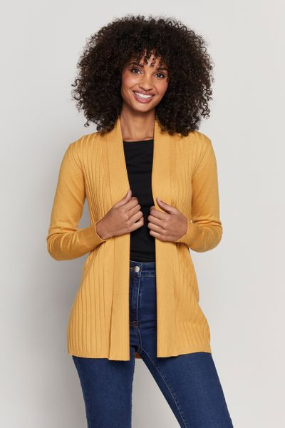 Ochre Edge to Edge Cardigan