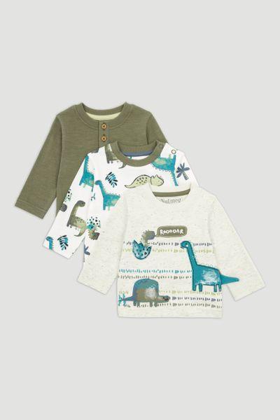 3 Pack Dinosaur T-shirt