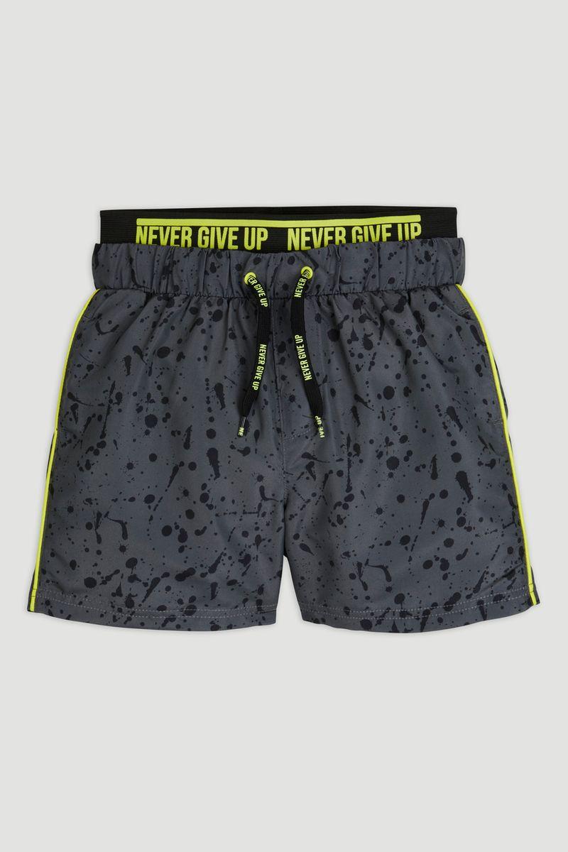 Slogan Swim Shorts