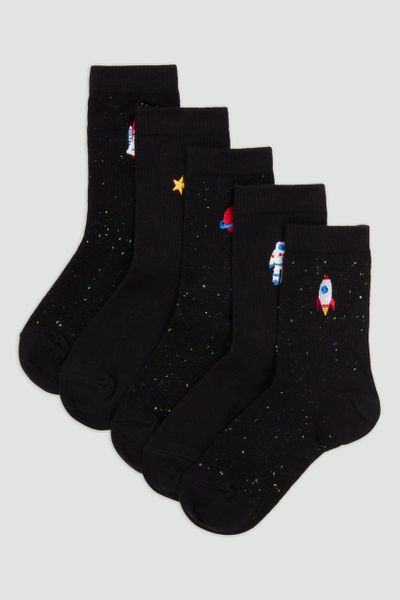 5 Pack Rocket Socks